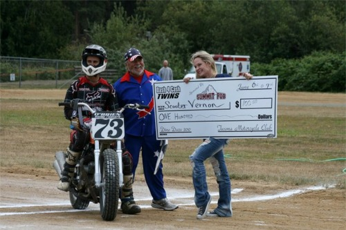 Click to find out more about Flat Track Racing