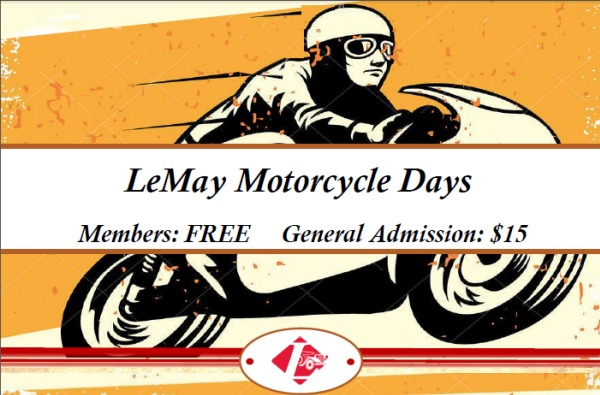 Click to find out more about LeMay Motorcycle Days